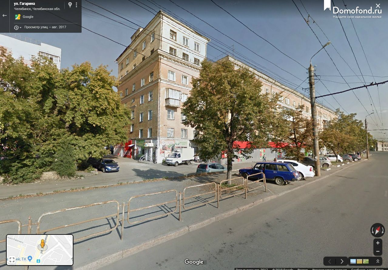 Гугл просмотр улиц онлайн челябинск
